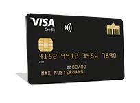 Visa Gold Kreditkarte