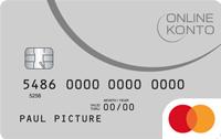 Onlinekonto.de MasterCard
