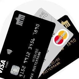 Kreditkarten von PaySol